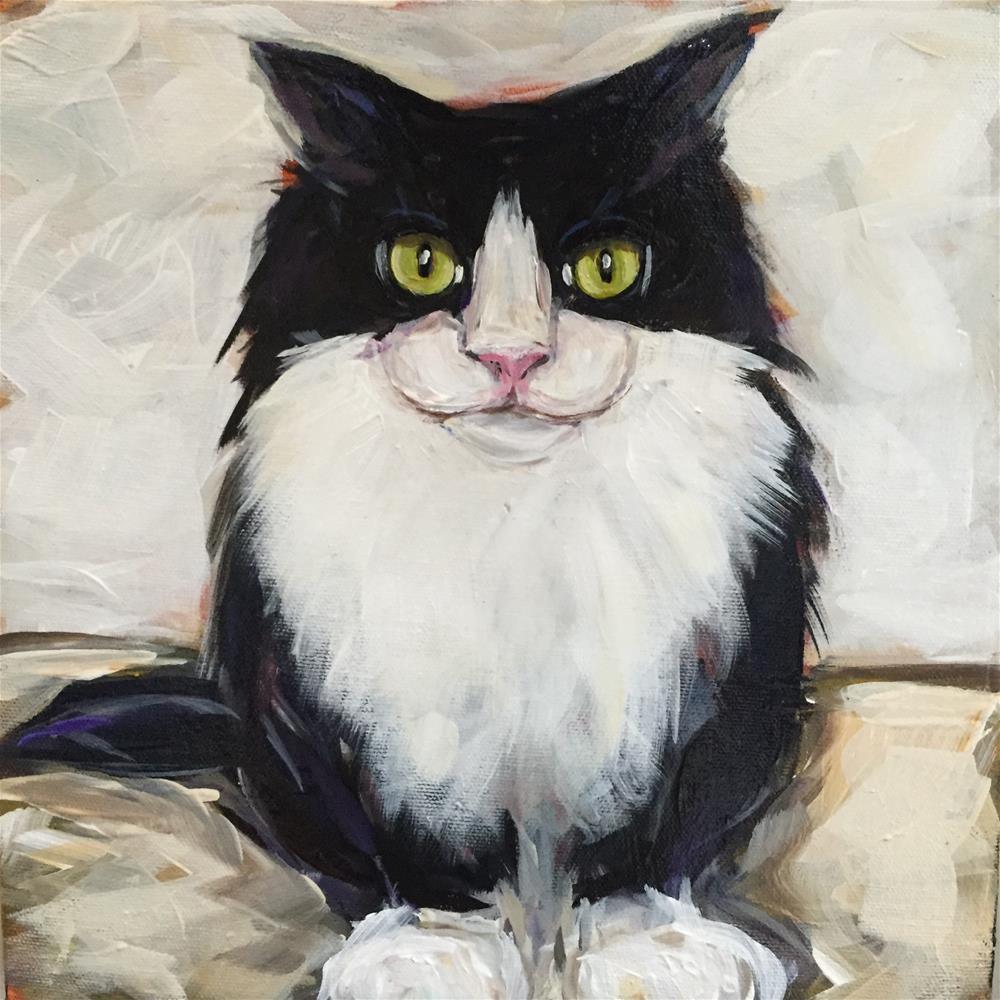 """Zimmerman"" original fine art by Kandice Keith"