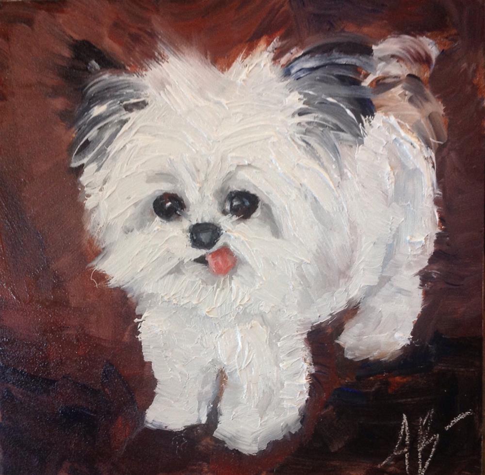 """Norbert"" original fine art by Annette Balesteri"