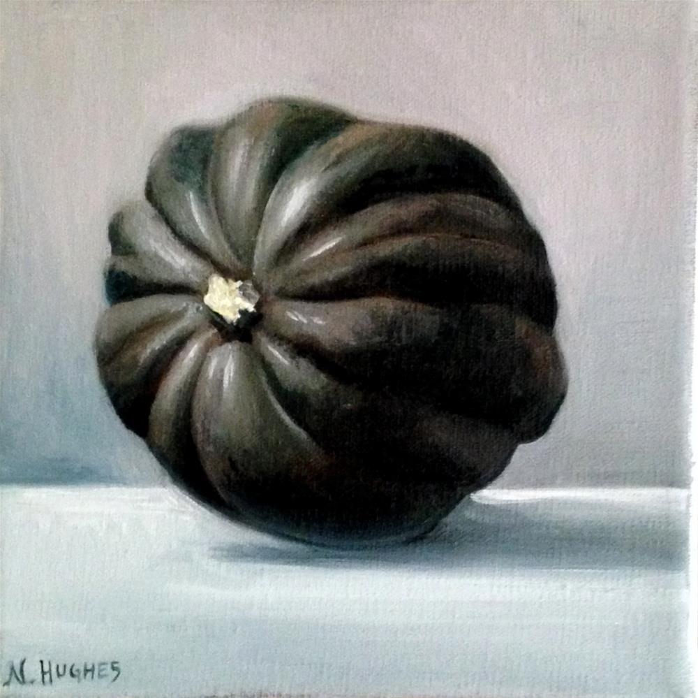 """Acorn Squash"" original fine art by Naomi Hughes"