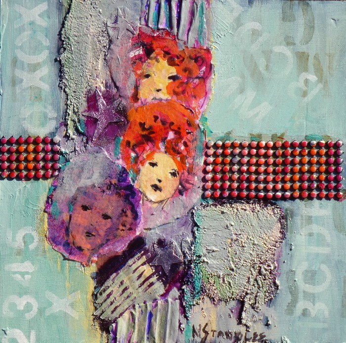 """Pop Star 14005  SOLD"" original fine art by Nancy Standlee"