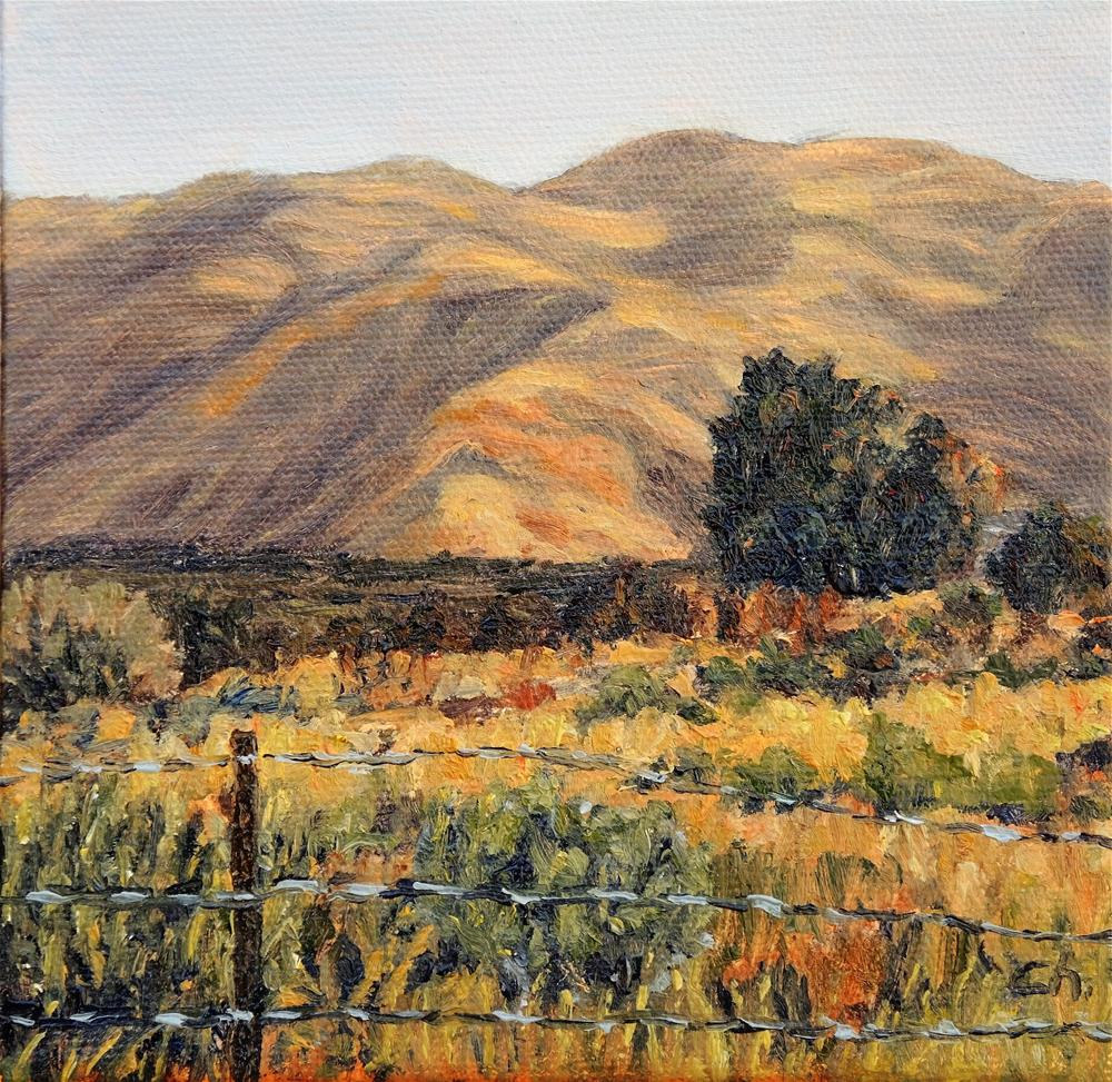 """Taos View"" original fine art by Candi Hogan"