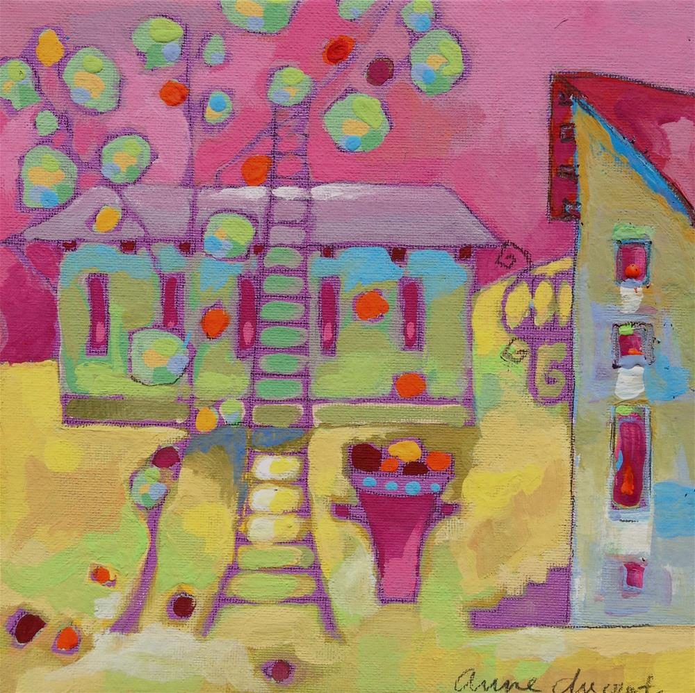 """Harvest"" original fine art by Anne Ducrot"