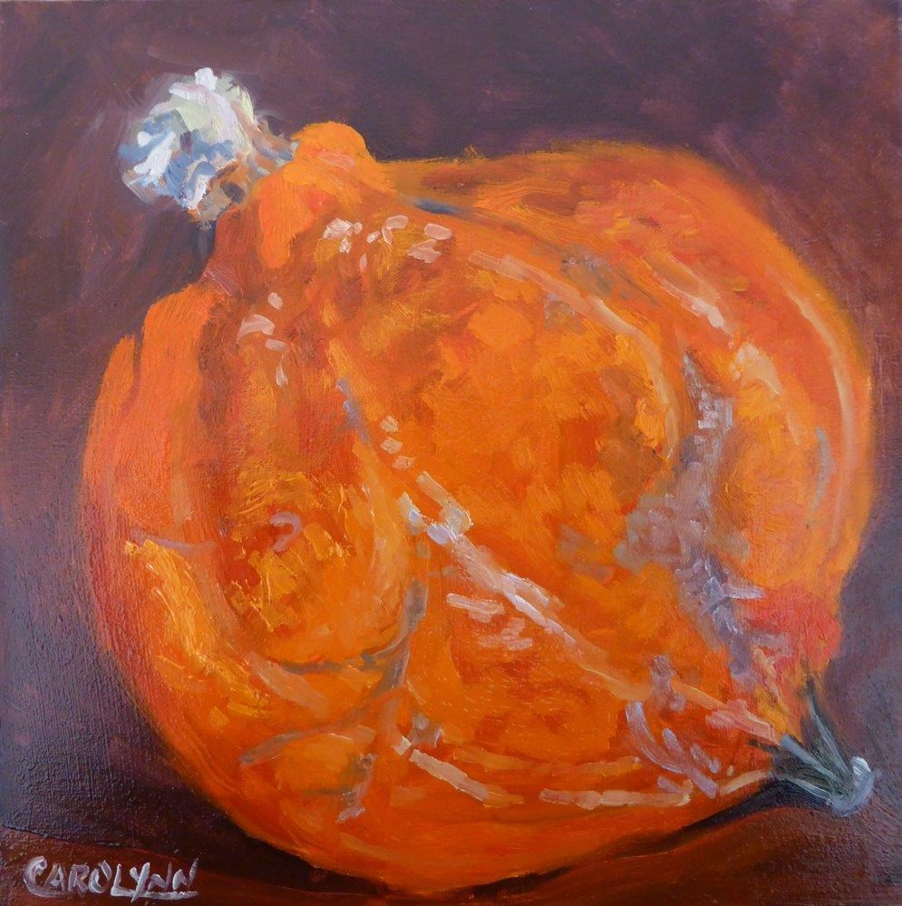 """Not Squashed Yet"" original fine art by Carolynn Doan"
