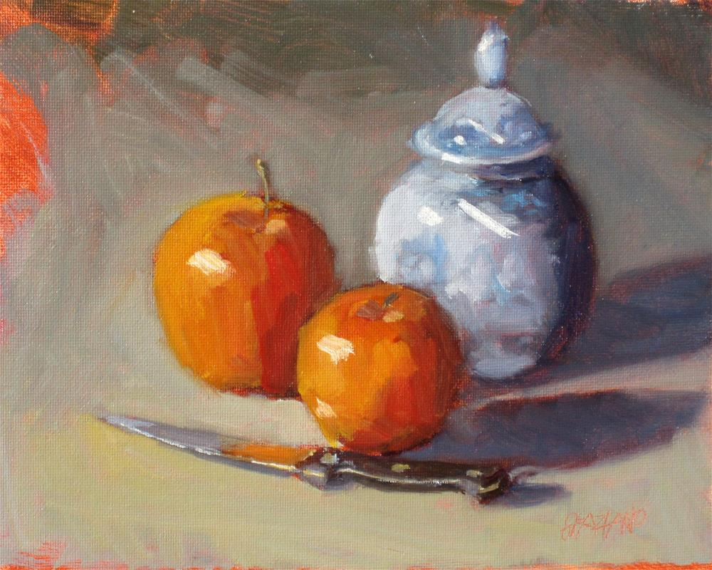 """still life demo #1"" original fine art by Dan Graziano"