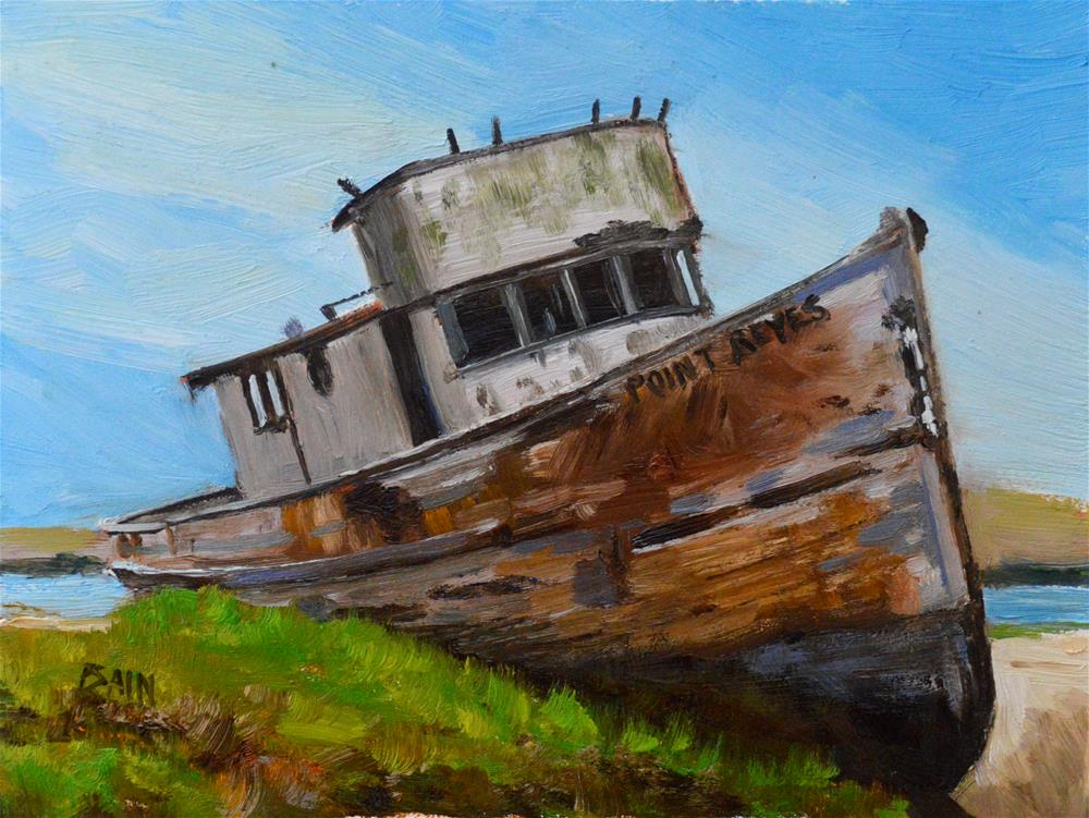 """Neglected"" original fine art by Peter Bain"