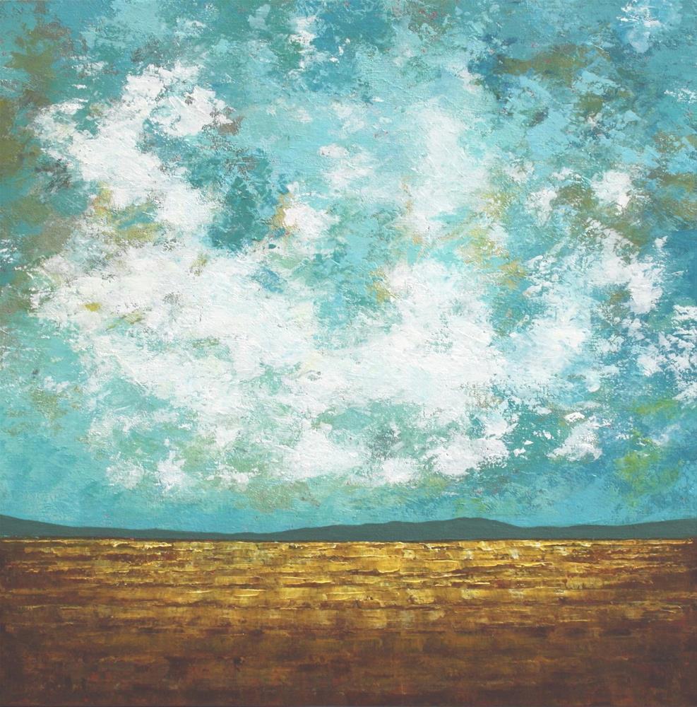 """Wheat Field"" original fine art by Sage Mountain"