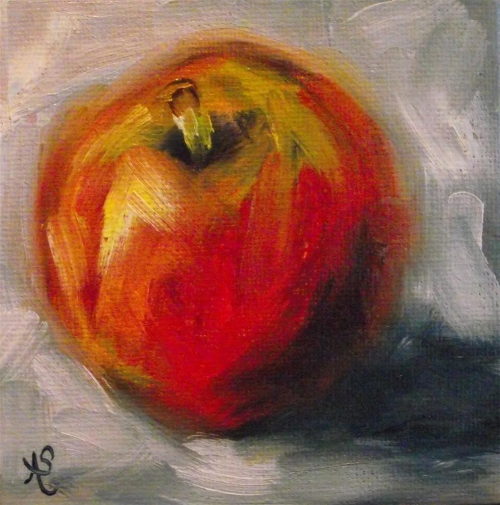 """Apple Dapple"" original fine art by Angela Sullivan"