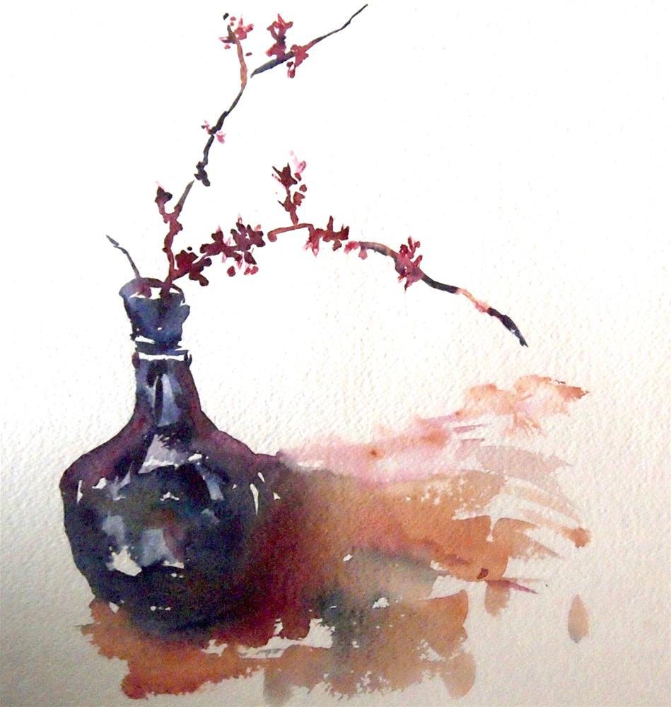 """No. 3--Redbud Branch"" original fine art by Amy Bryce"
