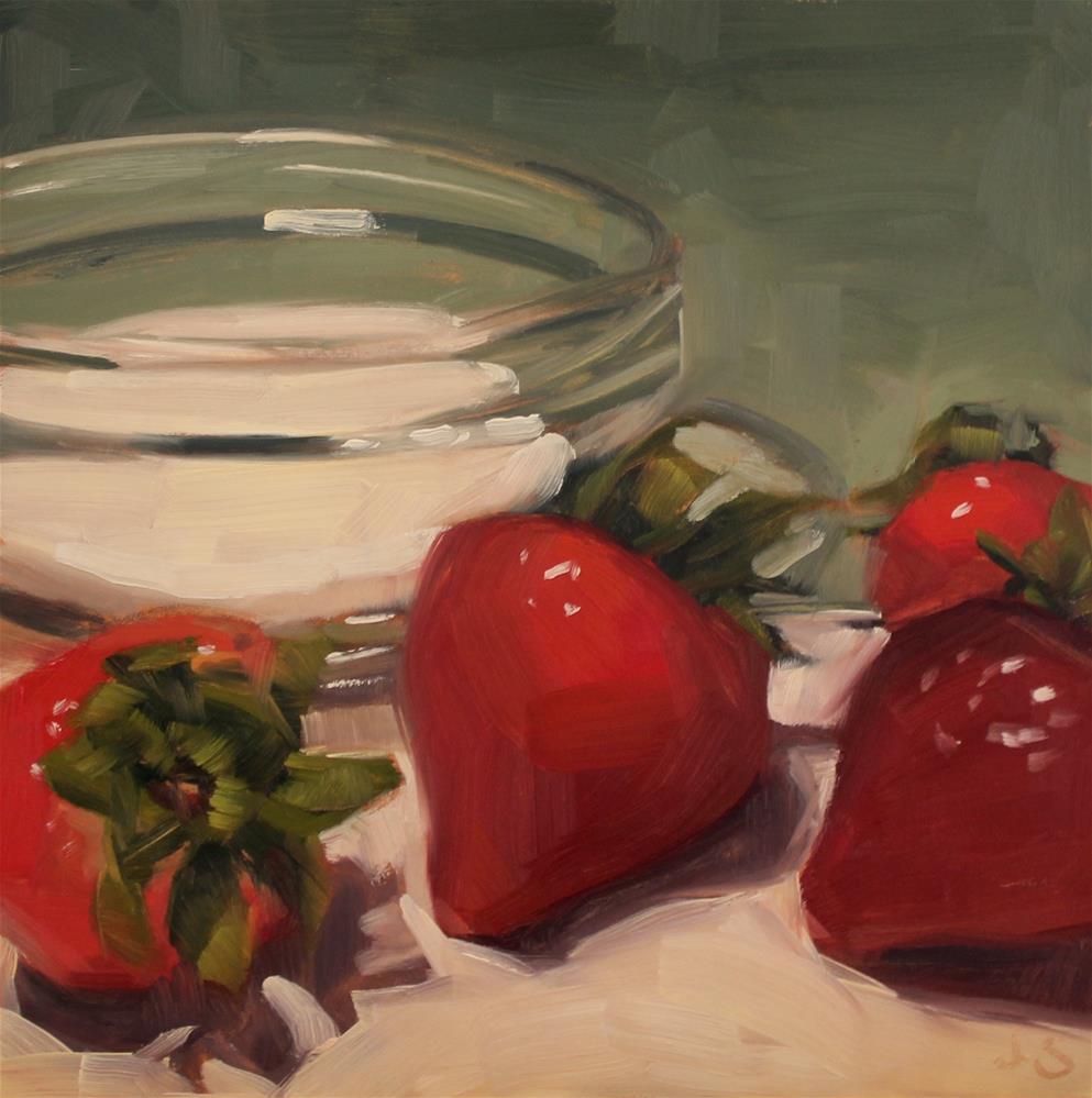 """The Sweetest Thing"" original fine art by Jamie Stevens"