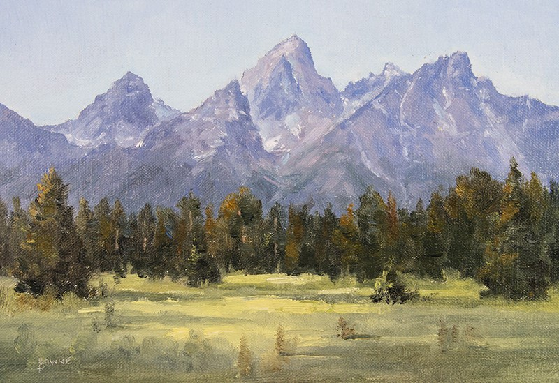 """Schwabacher Meadows"" original fine art by Bonnie Bowne"