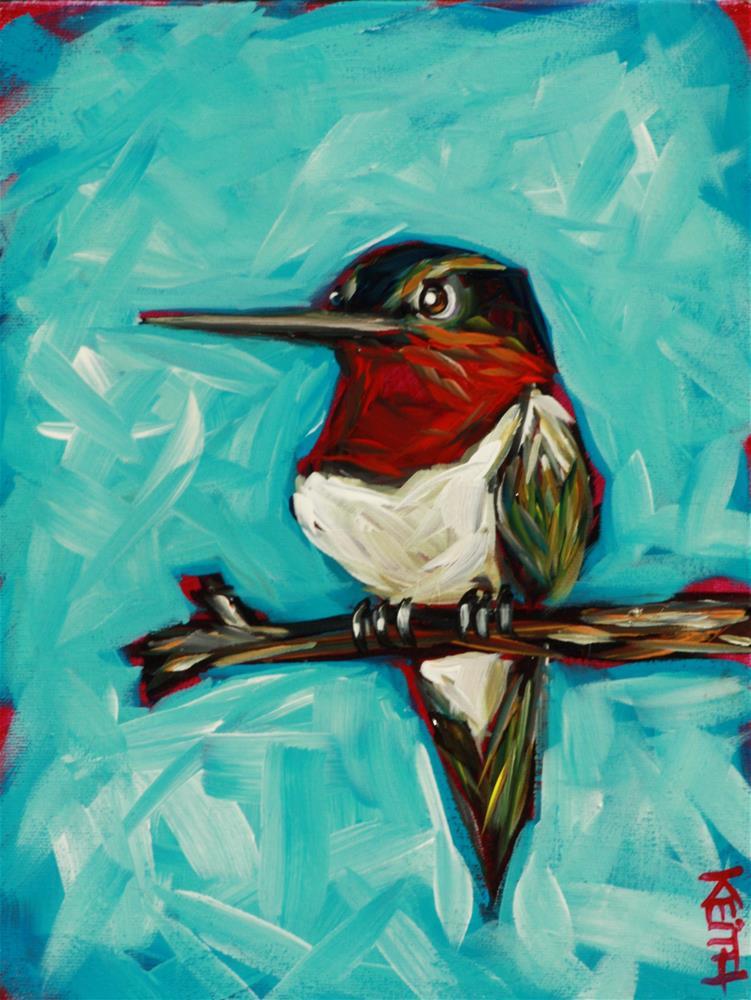 """""""Turbo"""" original fine art by Kandice Keith"""