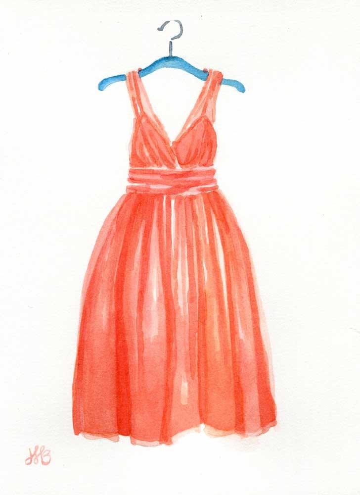 """Just Peachy"" original fine art by Heather Bennett"