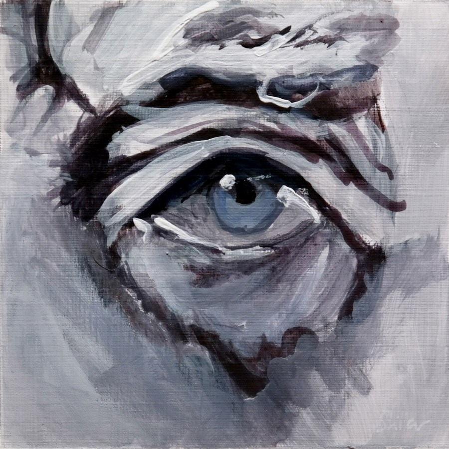 """1819 Eye Sight 4"" original fine art by Dietmar Stiller"