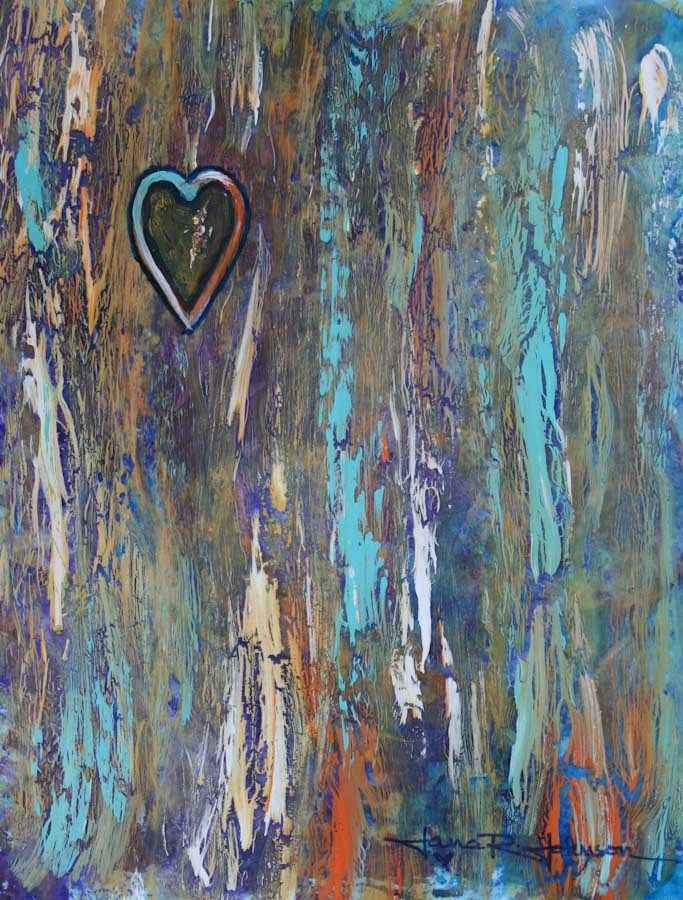 """Captured Heart"" original fine art by Jana Johnson"