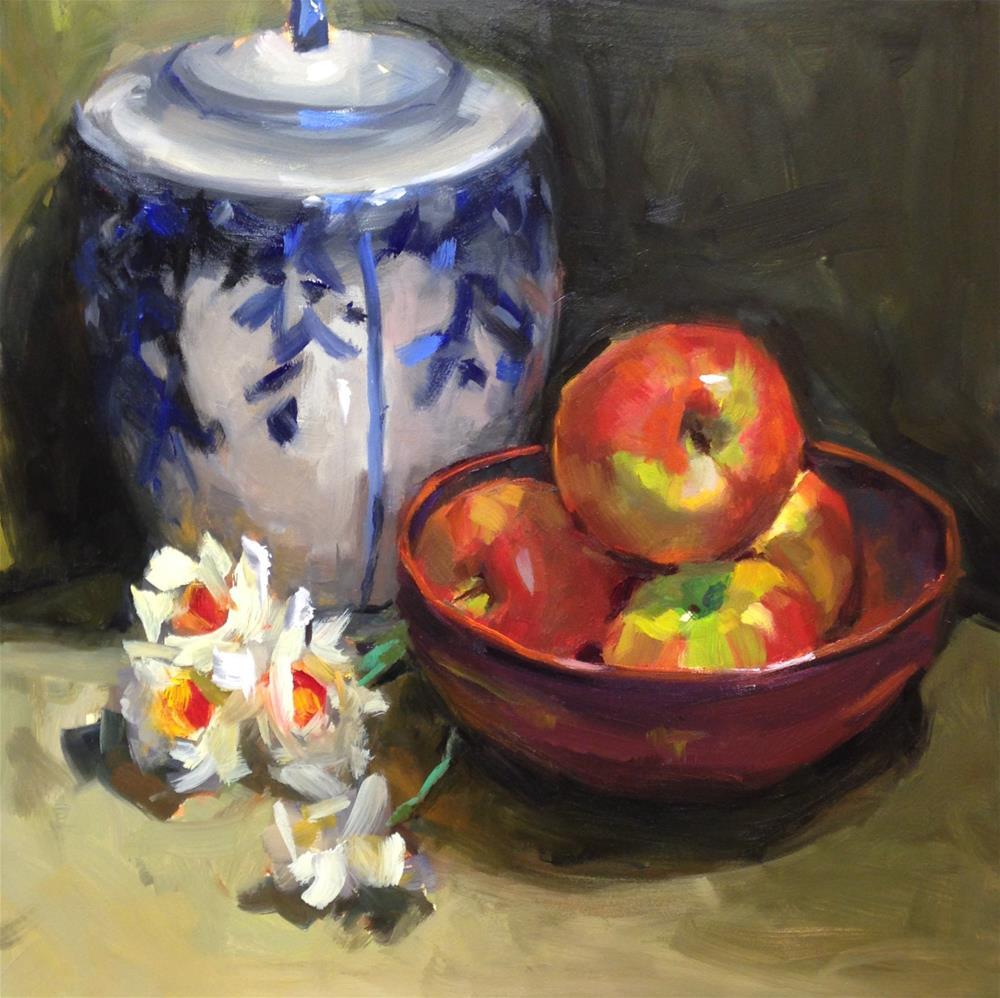 """An inspired Still Life"" original fine art by Laurie Johnson Lepkowska"