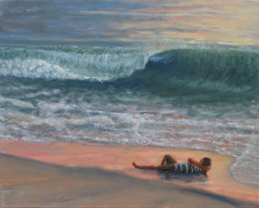 """Life's a Beach"" original fine art by Richard Kiehn"