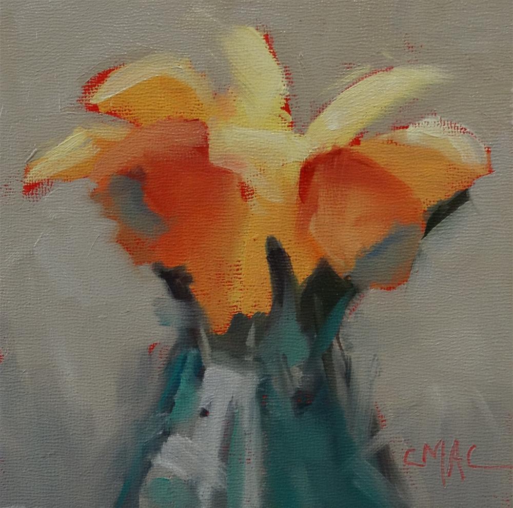 """Sunshine Flowers"" original fine art by Carolyn McDonald"
