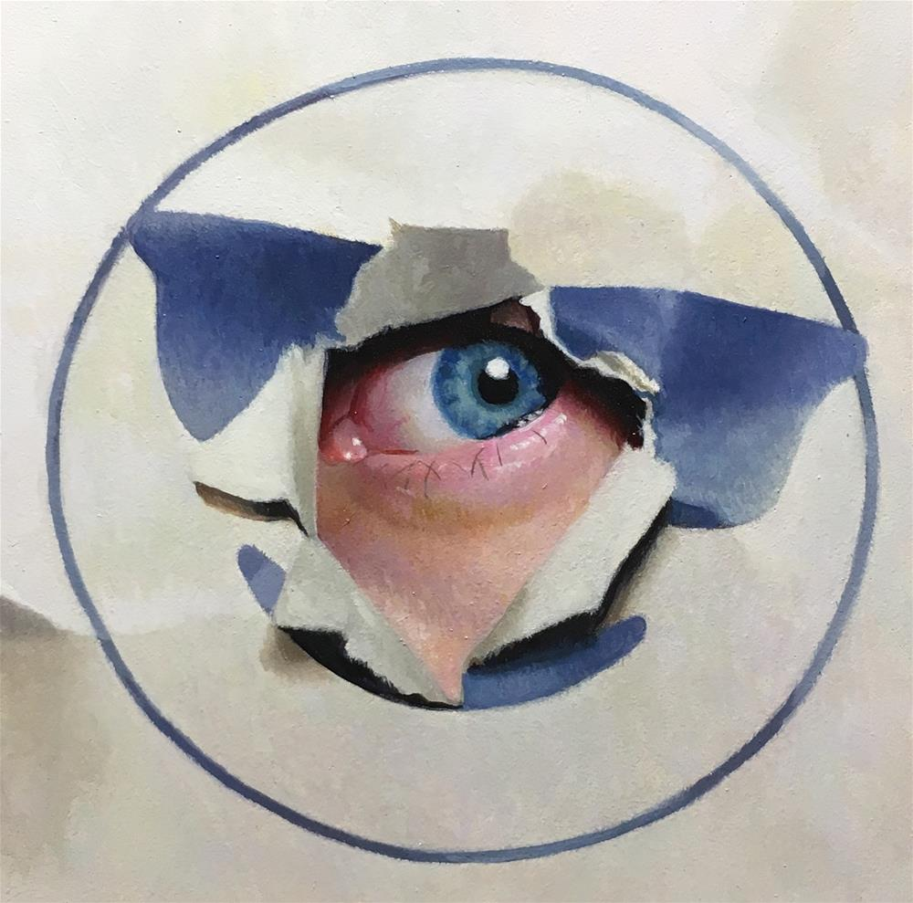 """Emojified"" original fine art by Brian Burt"