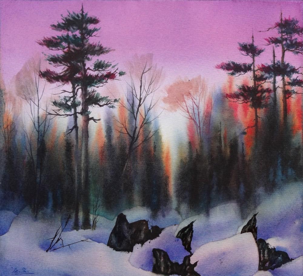 """Edgewood"" original fine art by Arena Shawn"