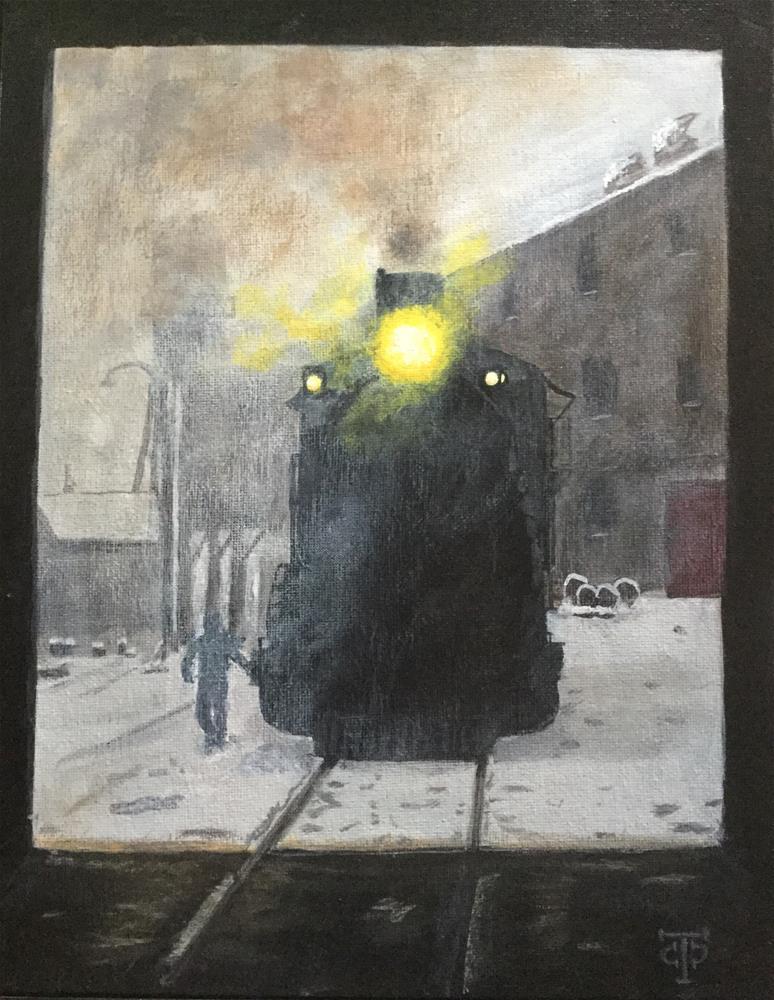 """""""Shop Time"""" original fine art by T.C. Poole"""
