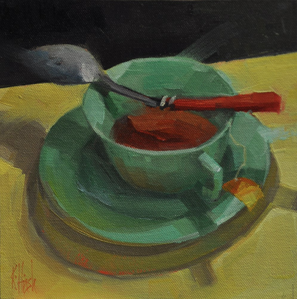 """Patt's Cup 2"" original fine art by kathy hirsh"