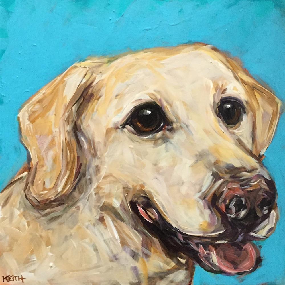 """Daisy"" original fine art by Kandice Keith"
