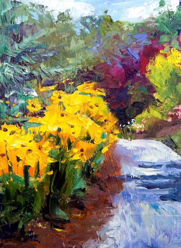"""Susans"" original fine art by Kathleen Gray Farthing"