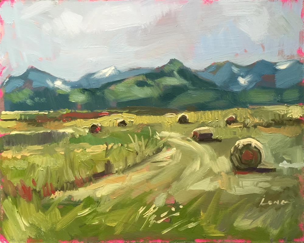 """Southern Montana"" original fine art by Chris Long"