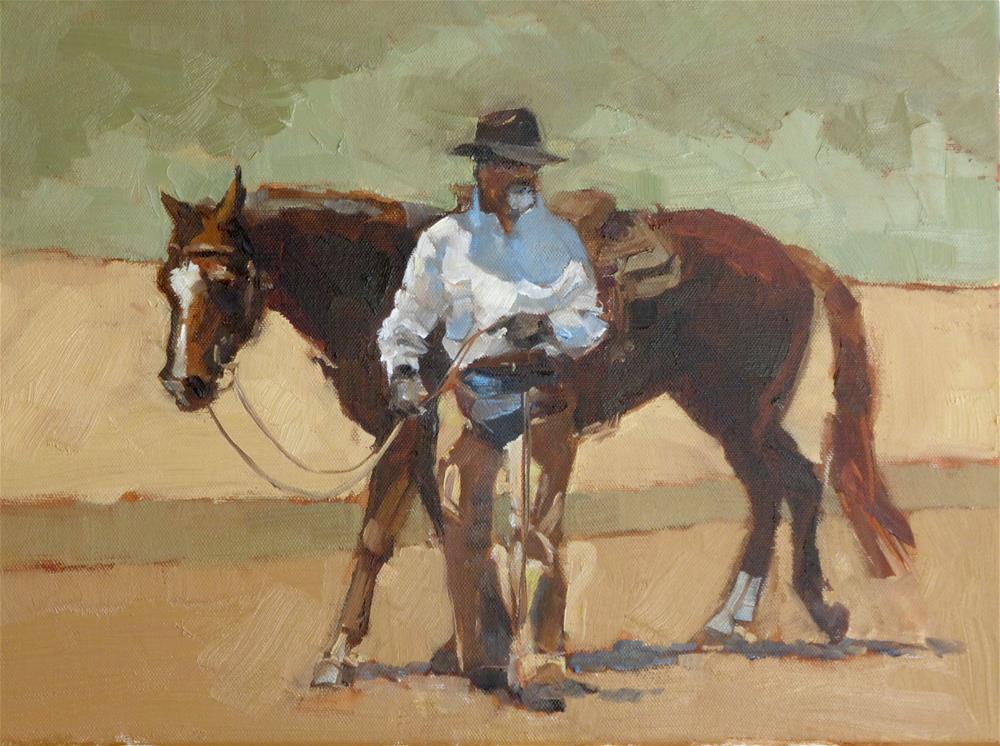 """""""The Equine Clinician"""" original fine art by Jeri Ireland"""