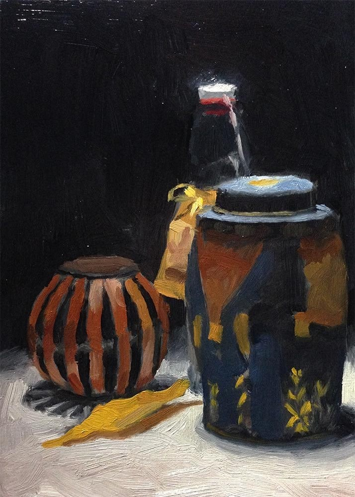 """""""Containers"""" original fine art by Chris Beaven"""