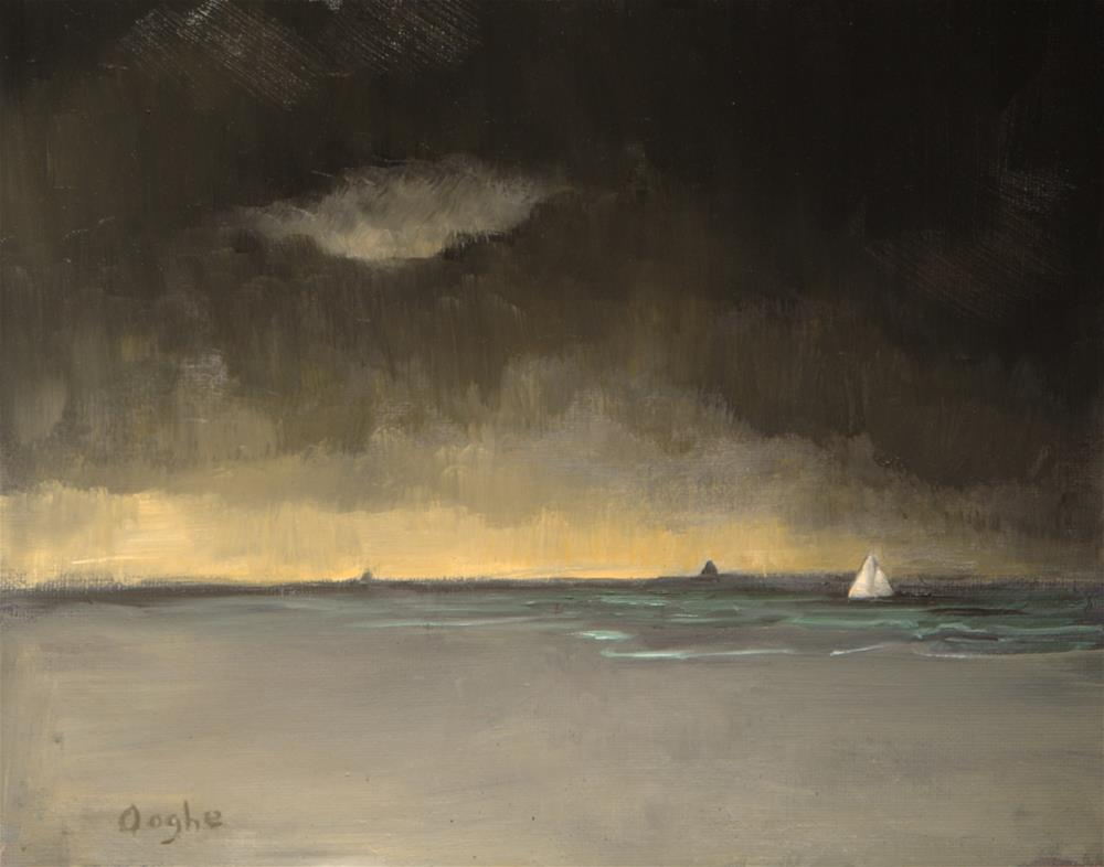 """Dark Seas"" original fine art by Angela Ooghe"