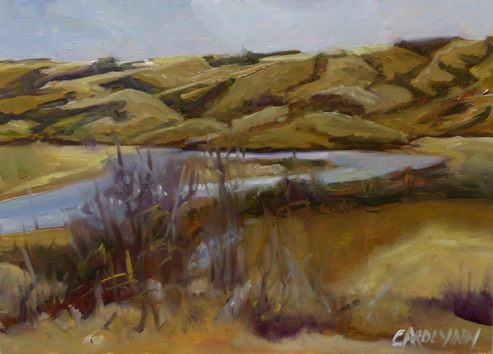 """The Sacred Qu'Appelle"" original fine art by Carolynn Doan"