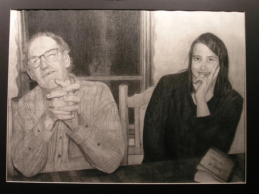 """Steve and Kristin"" original fine art by Nina Brodsky"