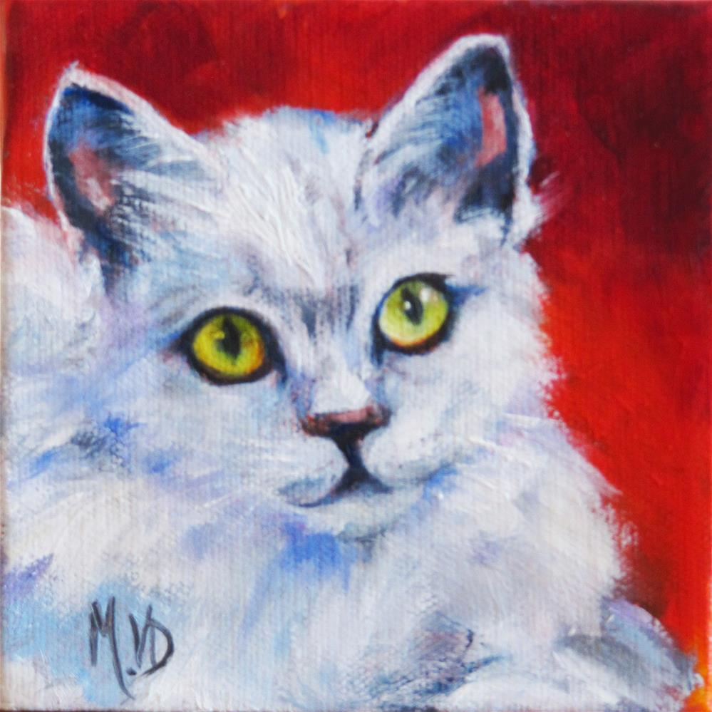 """Snowball"" original fine art by Mary Van Deman"