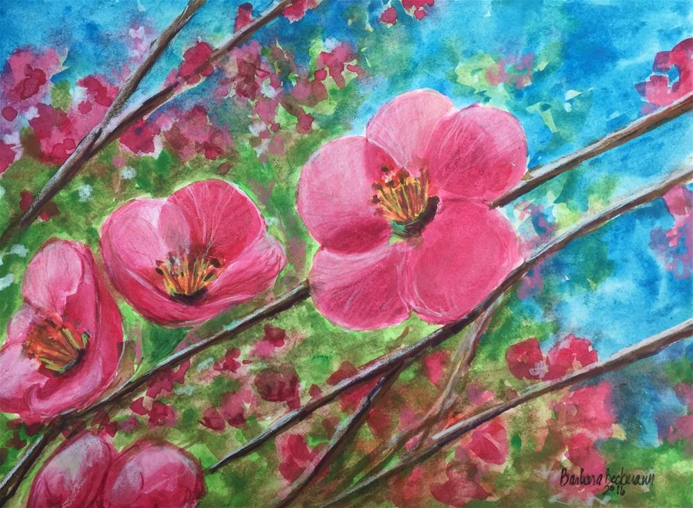 """Longing for Spring"" original fine art by Barbara Beckmann"