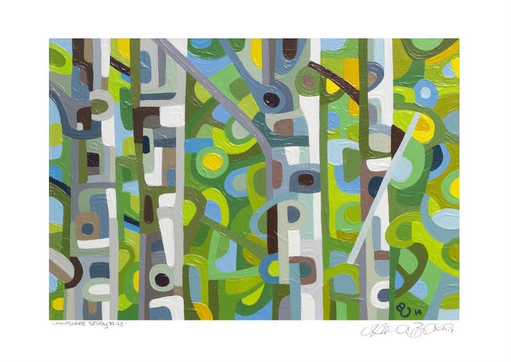 """Landscape Study #48"" original fine art by Mandy Budan"