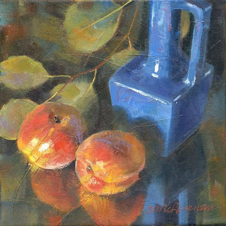 """Organic"" original fine art by Connie McLennan"