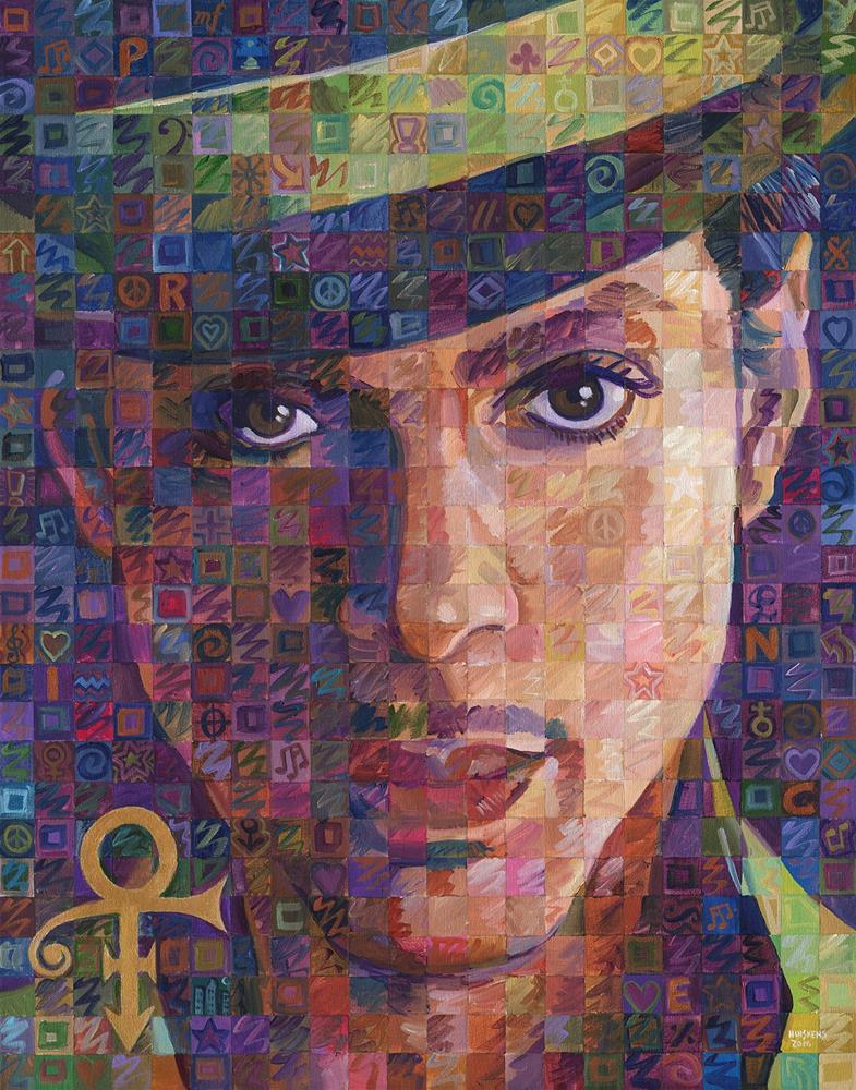 """Prince #2"" original fine art by Randal Huiskens"