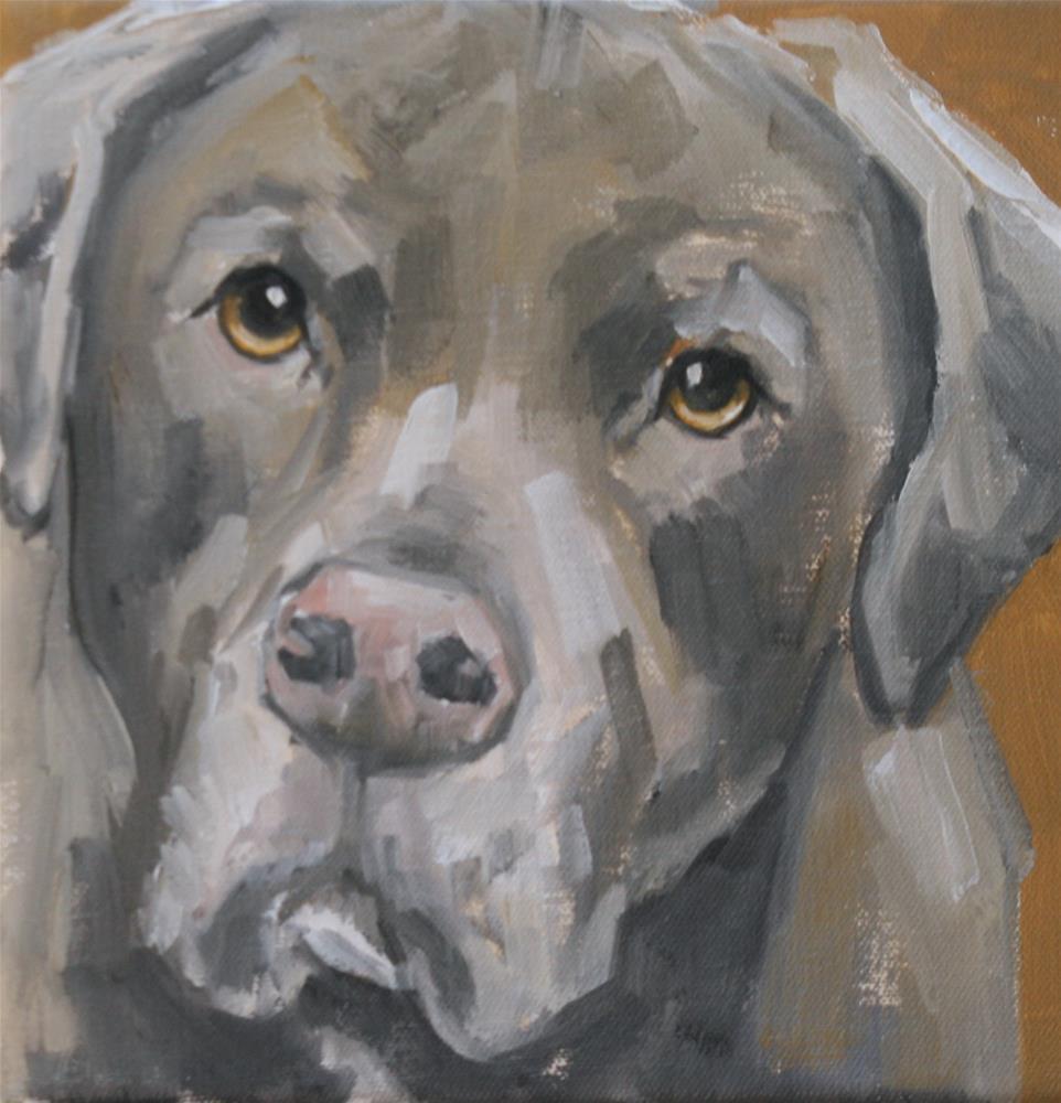 """remi"" original fine art by Carol Carmichael"