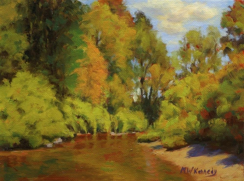 """At the Creek"" original fine art by Michael Kennedy"