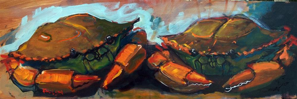 """NeoCrabs"" original fine art by Rick Nilson"