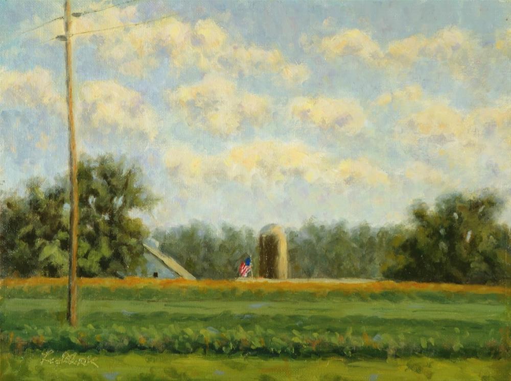 """Cornfield Study"" original fine art by Daniel Fishback"
