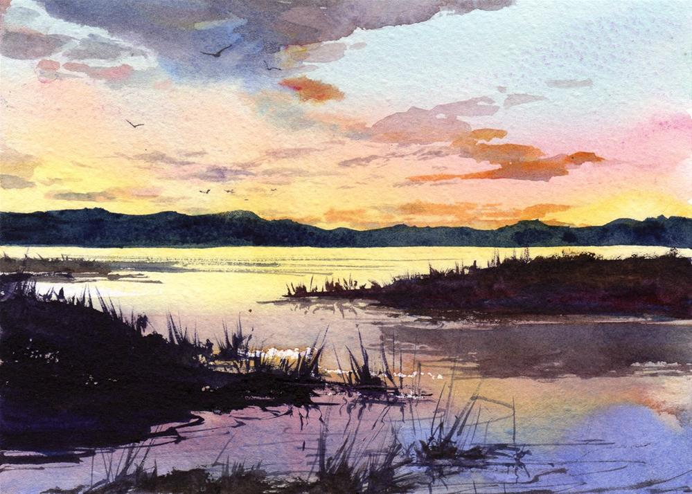 """A New Day's Dawning"" original fine art by Linda Henry"