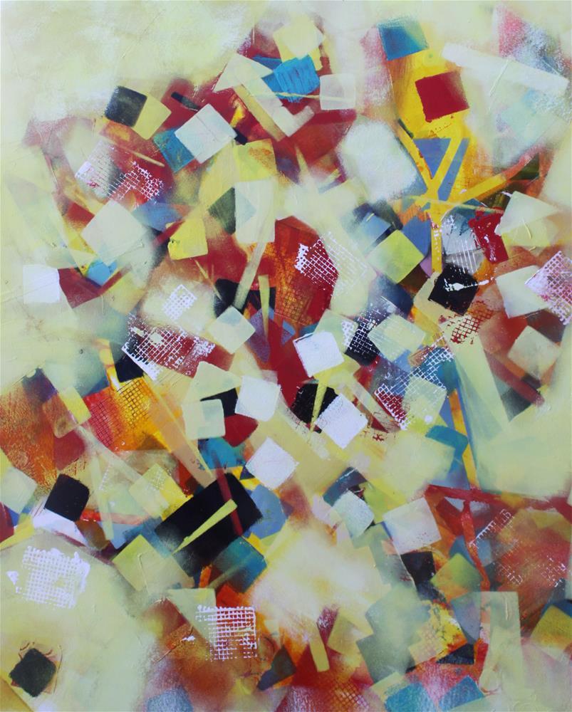 """Play Time"" original fine art by Christiane Kingsley"