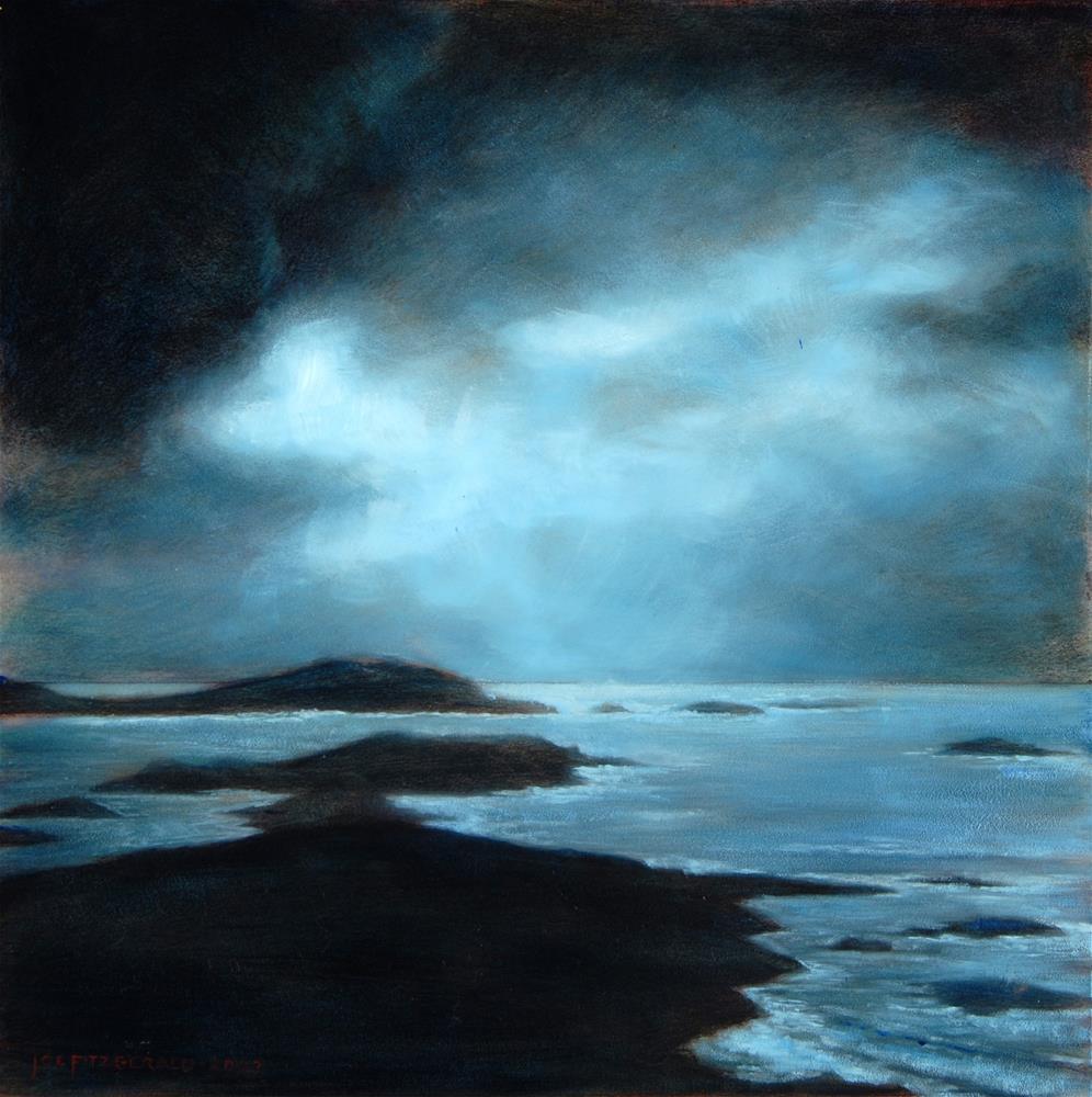 """Valentia Island"" original fine art by Joe Fitzgerald"