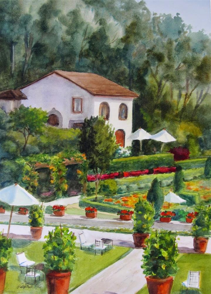 """Remembering Florence"" original fine art by Pat Fiorello"