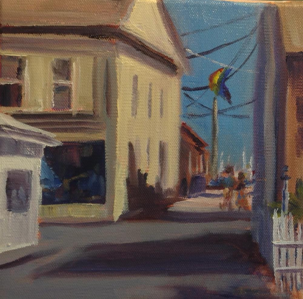 """Provincetown Wharf"" original fine art by Debra Kennedy"