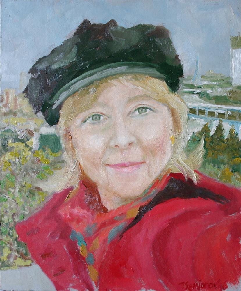 """Aleksandra"" original fine art by Yuriy Semyonov"