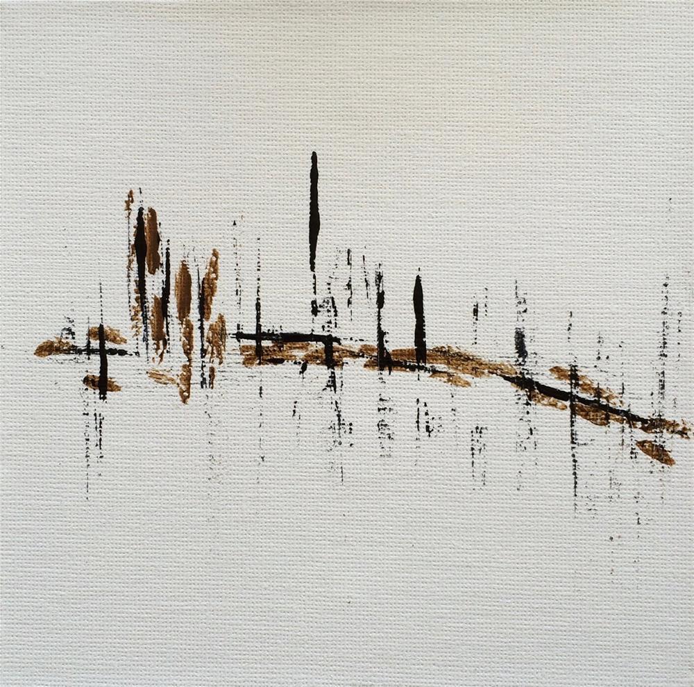 """Feltzen South, First Day"" original fine art by Dotty  Seiter"