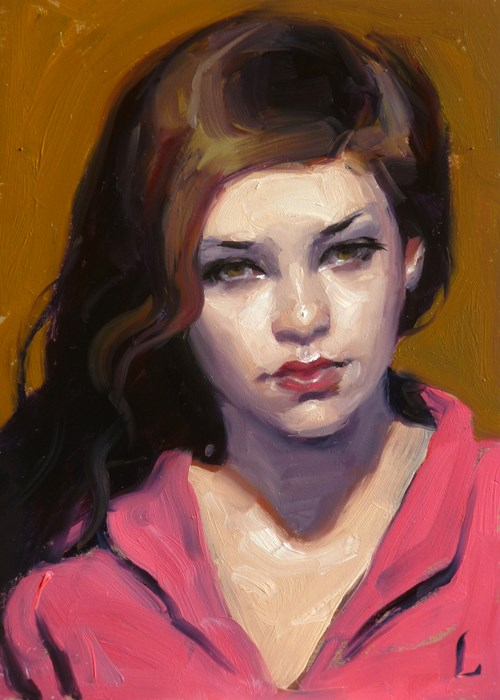 """Bubblegum and Caramel"" original fine art by John Larriva"